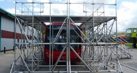 用于客车维护的定制化操作平台