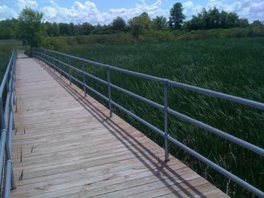 公园安全栏杆