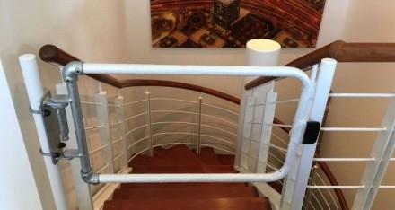 安装在办公室中的自闭式楼梯安全门