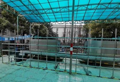 超高耐腐性能的Kee Lite铝制连接件,成就城市污水泵站棚架