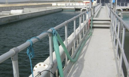 污水处理厂铝质护栏,防锈更耐用