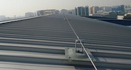 直立锁边屋面水平生命线系统