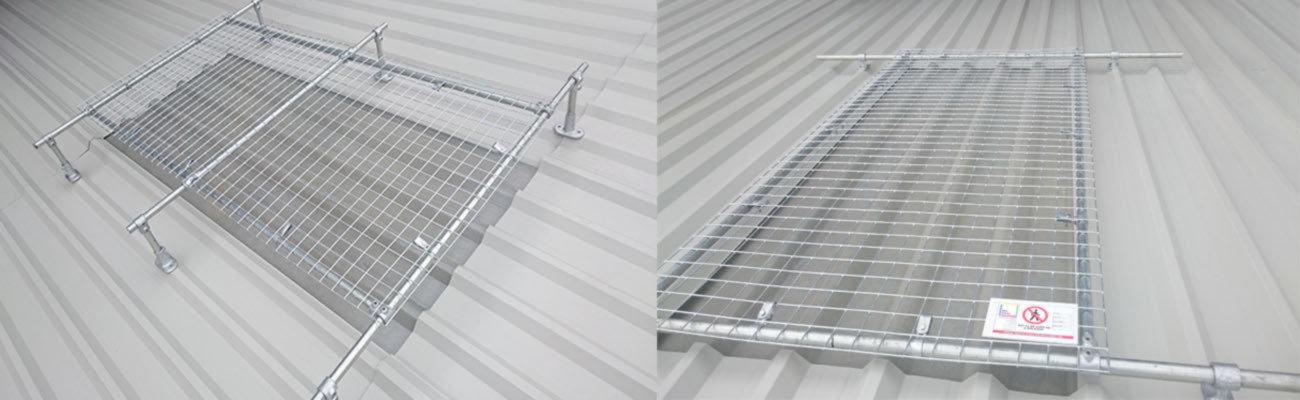 彩钢瓦天窗防护网