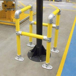 立柱护栏 - 0.5m