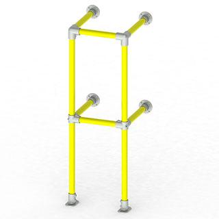 垂直防护栏