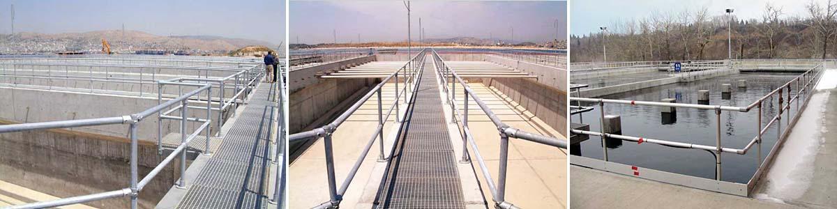 污水池护栏